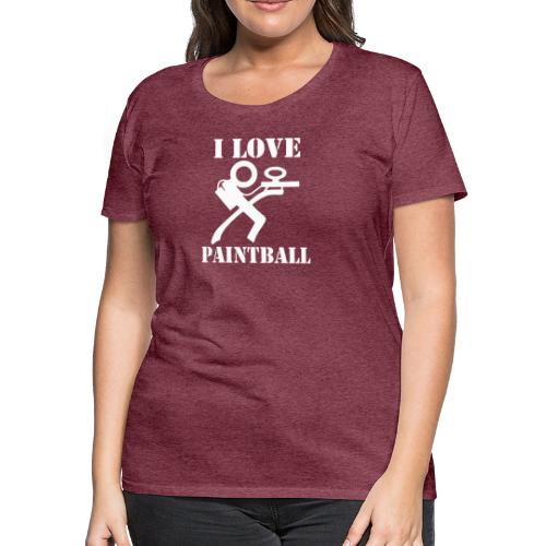 I Love Paintball 2019 - Women's Premium T-Shirt