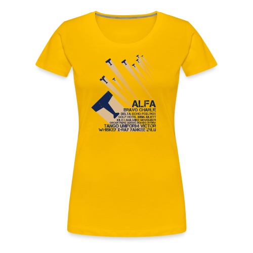 International Phonetic Alphabet - Women's Premium T-Shirt