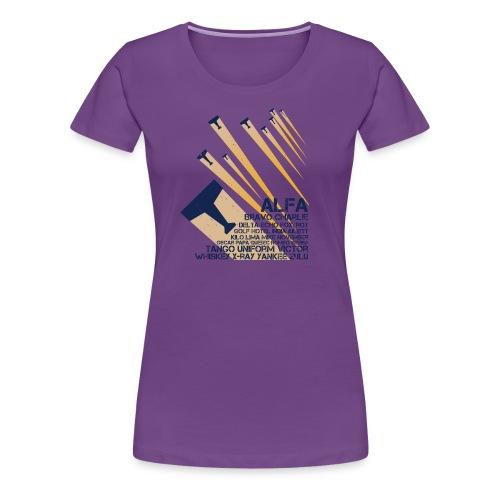 International Phonetic Alphabet - Women's Premium T-Shirt