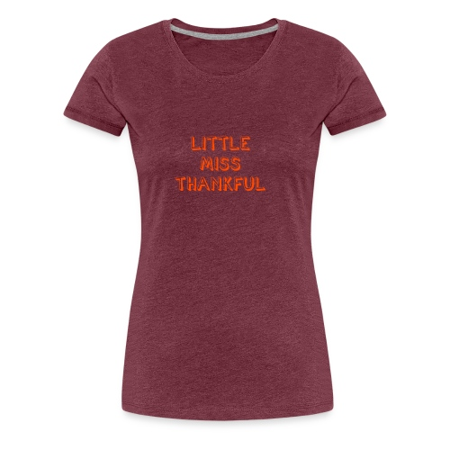 She thankful - Women's Premium T-Shirt