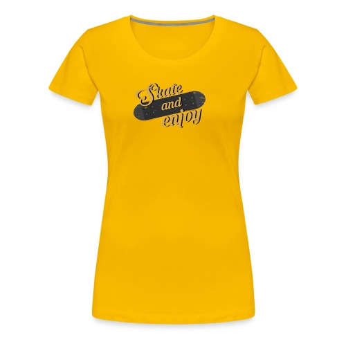 Skate And Enjoy - Women's Premium T-Shirt