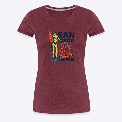 05 surf 6 - Women's Premium T-Shirt