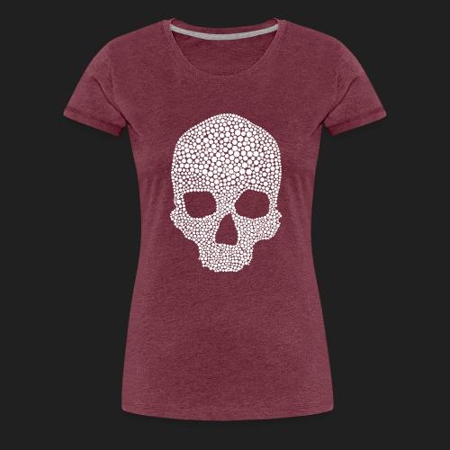 Scarlet Bones Hex Design - Women's Premium T-Shirt