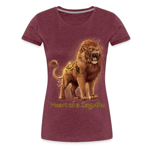 Heart of a Saguthu - Women's Premium T-Shirt