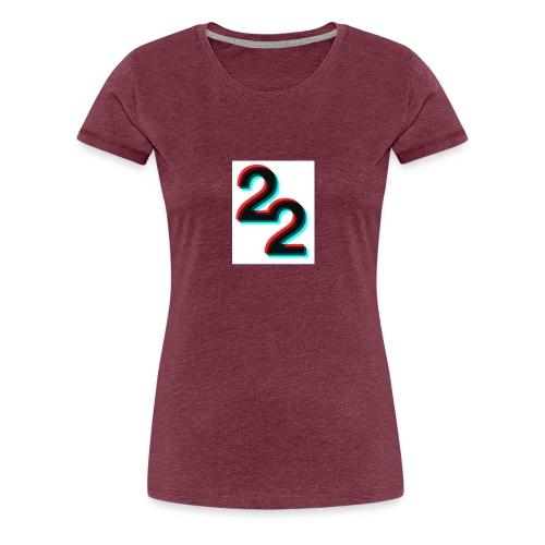 3D 22 logo - Women's Premium T-Shirt