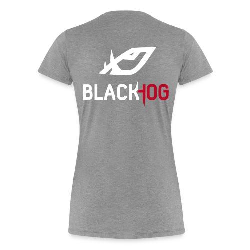 BH Logo white - Women's Premium T-Shirt