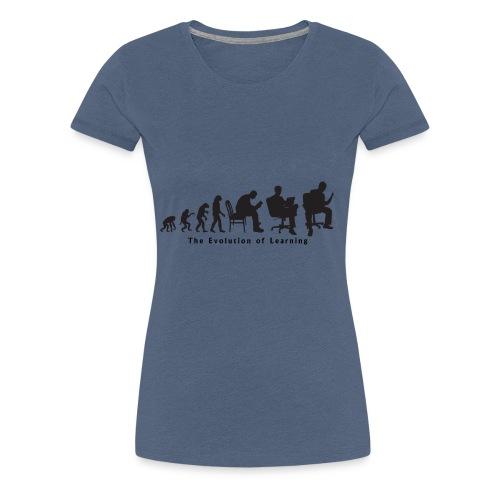 Learning_Evolution - Women's Premium T-Shirt