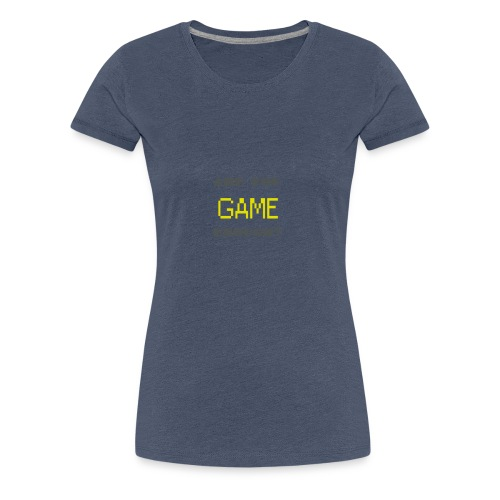 Are_you_game_enough - Women's Premium T-Shirt