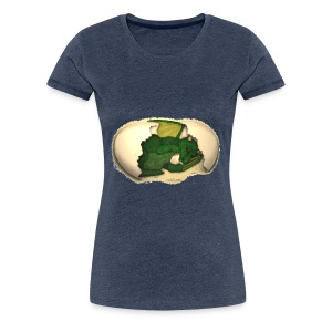 The Emerald Dragon of Nital - Women's Premium T-Shirt