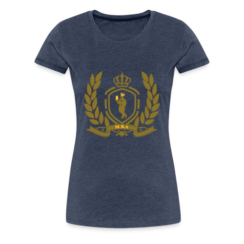 Conscious King (Crest) - Women's Premium T-Shirt