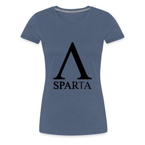 Red Sparta Lambda - Women's Premium T-Shirt