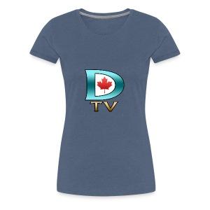 Dolynny TV Logo - Women's Premium T-Shirt