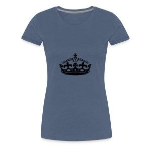 KEEP CALM CROWN - Women's Premium T-Shirt