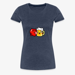 I love beer too much - Women's Premium T-Shirt