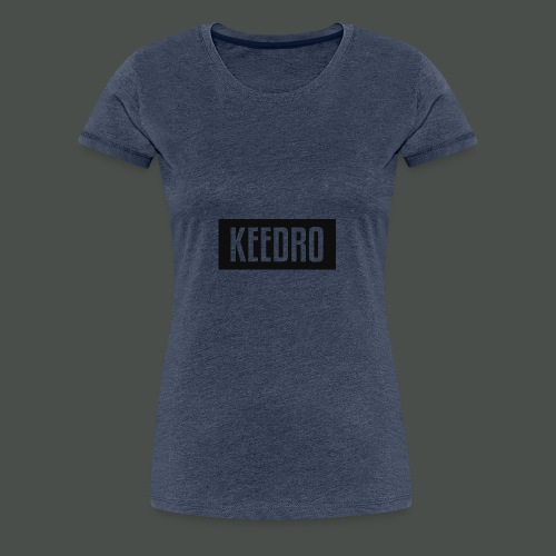 Keedro logo spreadshirt - Women's Premium T-Shirt