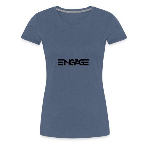 Engage-Logo-Vector - Women's Premium T-Shirt