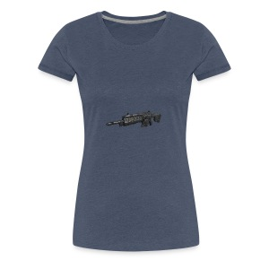 wildflor5561's main gun - Women's Premium T-Shirt