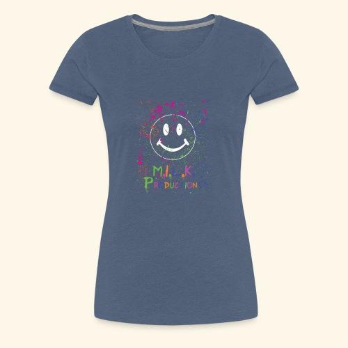M.I.L.K. Color Splatter T-Shirt - Women's Premium T-Shirt