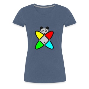 SCIENCE PANDA - Women's Premium T-Shirt