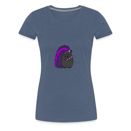 Quilla the Christmas Hedgehog - Women's Premium T-Shirt