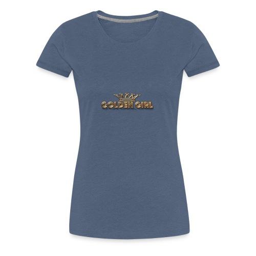 GoldenGirl - Women's Premium T-Shirt