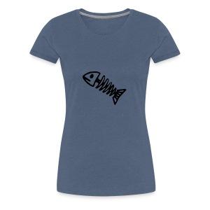 Bass Bones - Women's Premium T-Shirt