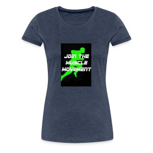 muscle movement - Women's Premium T-Shirt