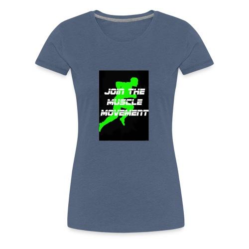 muscle movement - Women's Premium T-Shirt