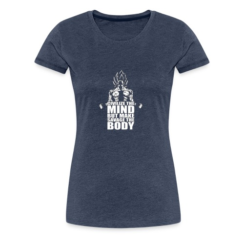 Dbz C Shirt - Women's Premium T-Shirt