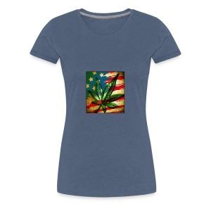 weed freedom weed memes - Women's Premium T-Shirt