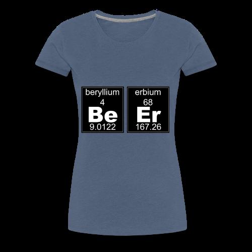 Chemistry Beer - Women's Premium T-Shirt