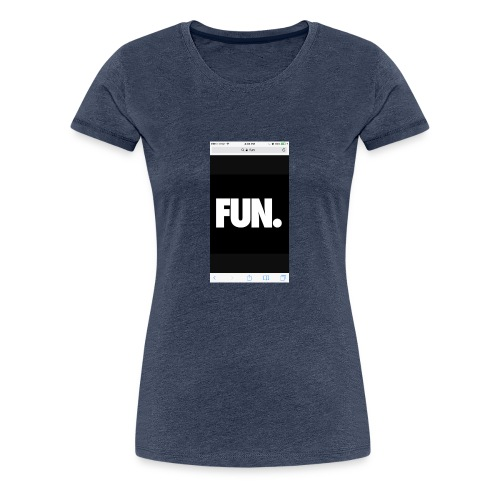 014Kadin fun - Women's Premium T-Shirt