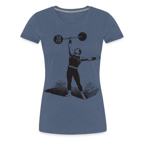 Women's 2Ton Sideshow Strongman Shirt - Women's Premium T-Shirt