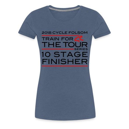 2018 TfT 10 Stage Finisher - Women's Premium T-Shirt