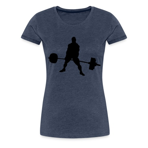 Powerlifting - Women's Premium T-Shirt