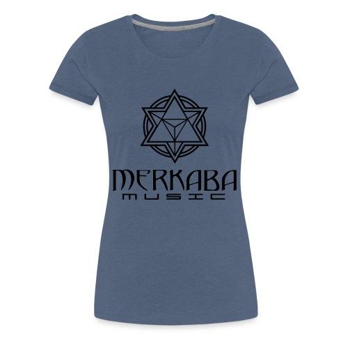 MM_logoteewhite - Women's Premium T-Shirt