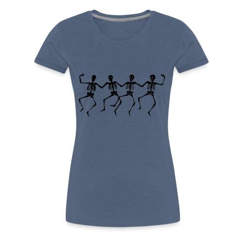 Dancing Skeletons - Women's Premium T-Shirt