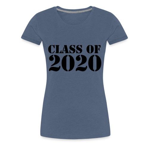 Class of 2020 - Women's Premium T-Shirt