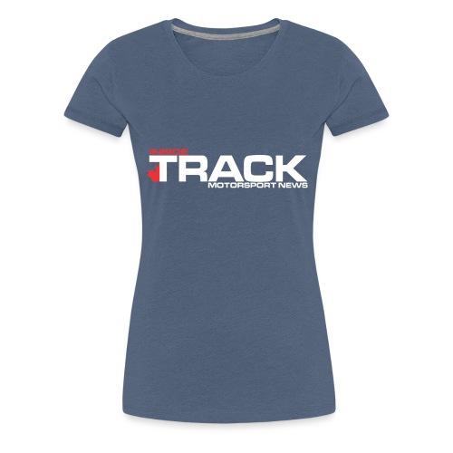 Inside Track White Logo - Women's Premium T-Shirt