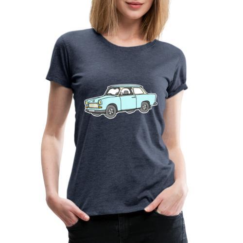 Trabant (lightblue) - Women's Premium T-Shirt