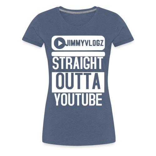 Straight Outta YouTube Merch! - Women's Premium T-Shirt