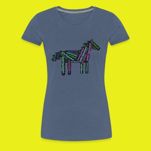 Entertainment Horse - Women's Premium T-Shirt