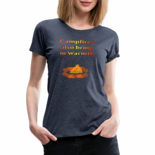 Around the Campfire - Women's Premium T-Shirt