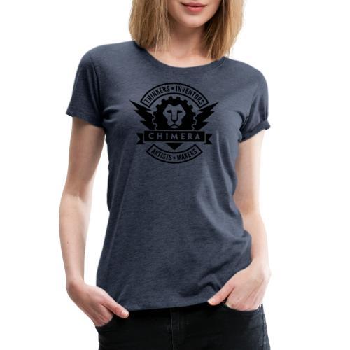Chimera Logo (Dark) - Women's Premium T-Shirt