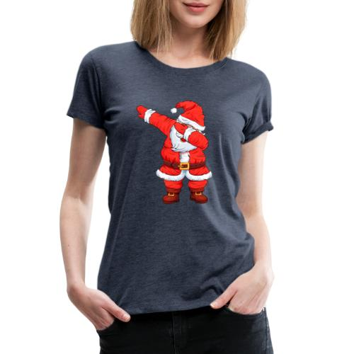 Dabbing Santa Shirt Christmas Boys Kids - Women's Premium T-Shirt