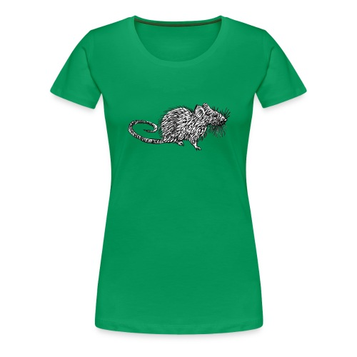 Quiet as a Mouse - Women's Premium T-Shirt