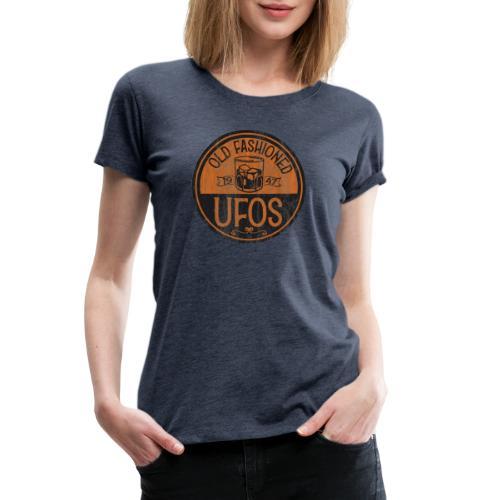 Old Fashioned UFOs logo - Women's Premium T-Shirt