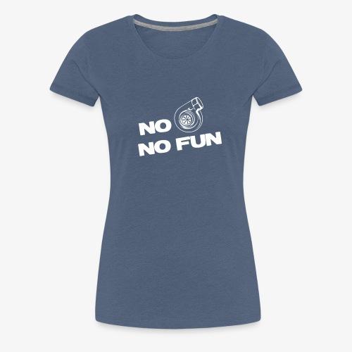 No turbo no fun - Women's Premium T-Shirt