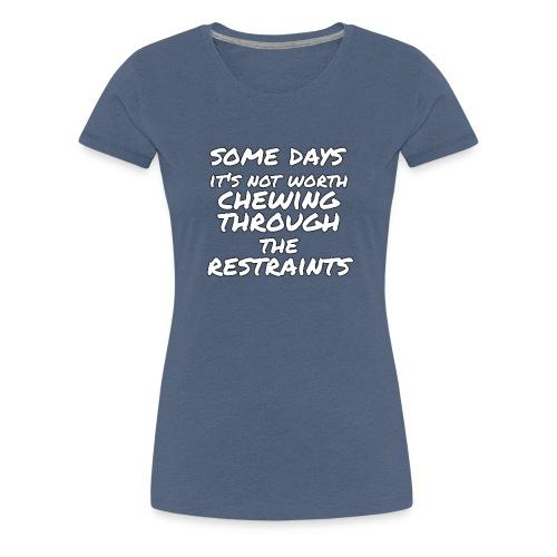 restraints - Women's Premium T-Shirt