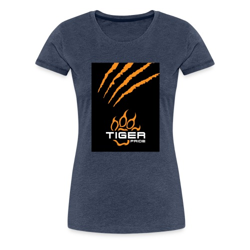 Tiger Pride iPad Case - Women's Premium T-Shirt